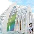 玩拍婚紗 第二站 關島 最水教堂 海之教堂   (37)婚紗照用
