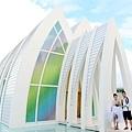 玩拍婚紗 第二站 關島 最水教堂 海之教堂   (39)婚紗照用
