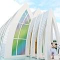 玩拍婚紗 第二站 關島 最水教堂 海之教堂   (41)婚紗照用