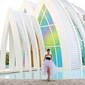 玩拍婚紗 第二站 關島 最水教堂 海之教堂   (51)婚紗照用