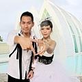 玩拍婚紗 第二站 關島 最水教堂 海之教堂   (69)婚紗照用