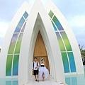 玩拍婚紗 第二站 關島 最水教堂 海之教堂   (75)婚紗照用