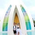 玩拍婚紗 第二站 關島 最水教堂 海之教堂   (77)婚紗照用