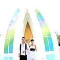 玩拍婚紗 第二站 關島 最水教堂 海之教堂   (78)婚紗照用