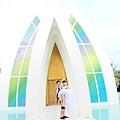 玩拍婚紗 第二站 關島 最水教堂 海之教堂   (82)婚紗照用