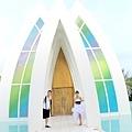 玩拍婚紗 第二站 關島 最水教堂 海之教堂   (86)婚紗照用