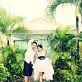 玩拍婚紗 第三站 關島最迷你 戀人教堂 (13)婚紗照用
