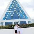 玩拍婚紗 第五站 關島最漂亮 藍色幸運星 (4)婚紗照用