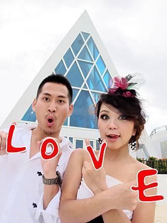 玩拍婚紗 第五站 關島最漂亮 藍色幸運星 (11)