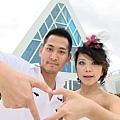 玩拍婚紗 第五站 關島最漂亮 藍色幸運星 (12)