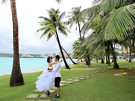 玩拍婚紗 第四站 關島海灘 (5)婚紗照用