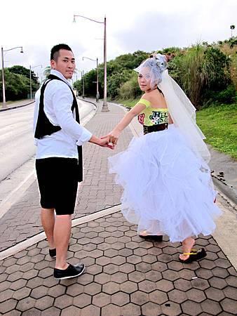 玩拍婚紗 想拍就關島隨便拍 (2)婚紗照用