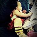 嬰兒坐飛機初體驗 (48)