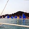 長灘島第一站 夕陽風帆 (148)