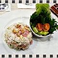 商業午餐~培根蘑菇拌飯 (1)
