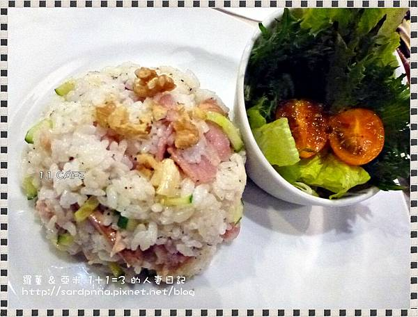 商業午餐~培根蘑菇拌飯 (5)