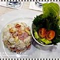 商業午餐~培根蘑菇拌飯 (6)
