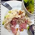 商業午餐~培根蘑菇拌飯 (7)