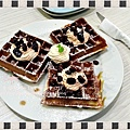 萊姆葡萄卡士達鬆餅 (1)