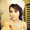 曼哈頓第四套白色低胸晚禮服側拍20110601-175415-001 (4).JPG