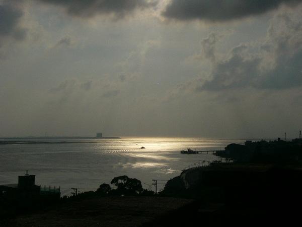 台灣八大景之一~淡水夕陽-1
