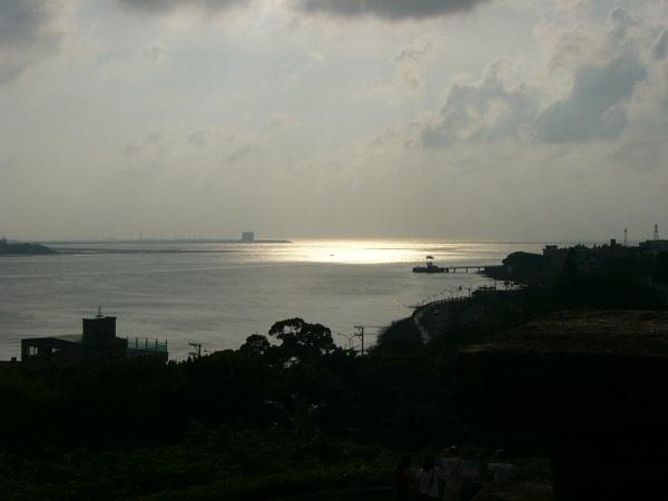 台灣八大景之一~淡水夕陽-2
