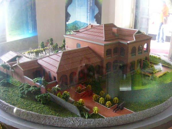 紅毛城模型-4