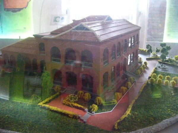 紅毛城模型-5