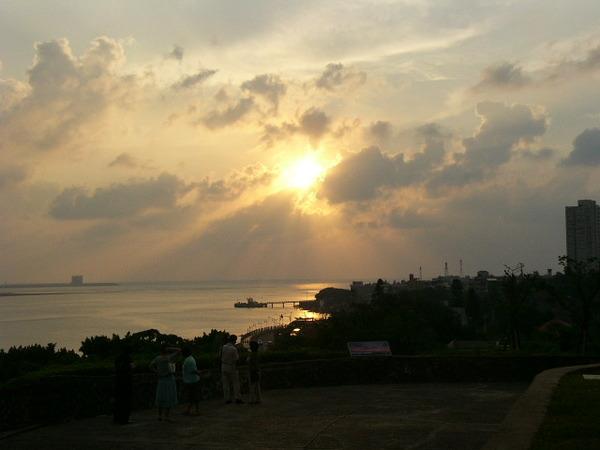 淡水的夕陽~1