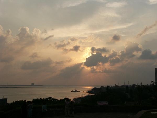 淡水的夕陽~3