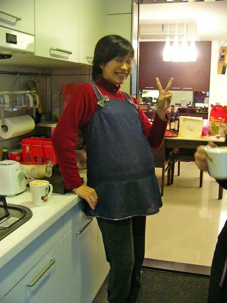 雅萍懷孕五個月了~