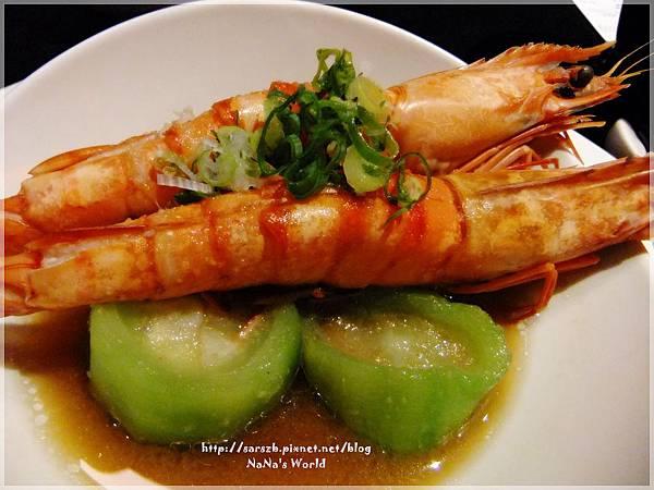 刺身-醬燒明蝦