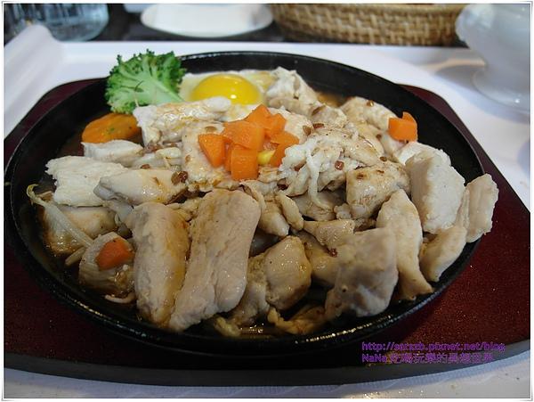 雞肉+麻辣醬鐵板燒
