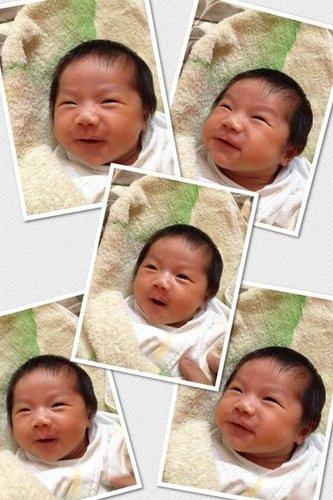 2013 5/24 (0M 9D)  這小妞 心情好呀!! 總是超多表情
