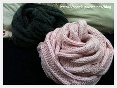 麻花圍巾-1