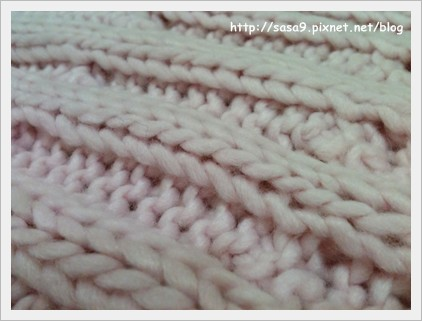 麻花圍巾-4