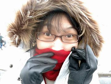 天寒地凍的北海道