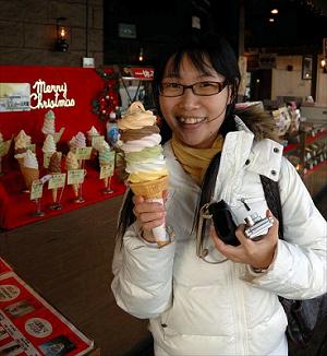六段冰淇淋