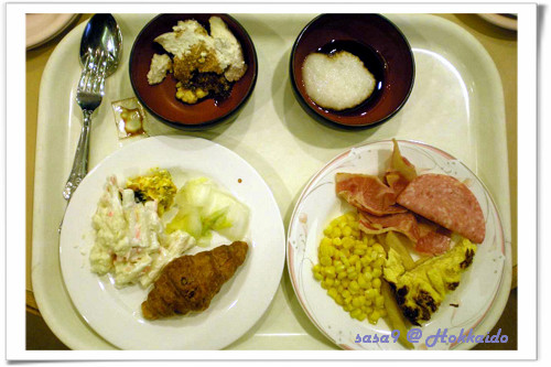 名水亭的早餐2