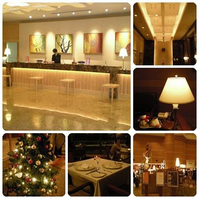 富麗堂皇的希爾頓飯店