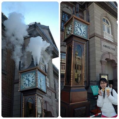 小樽古典蒸氣鐘