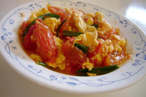 tomato & egg stir-fry