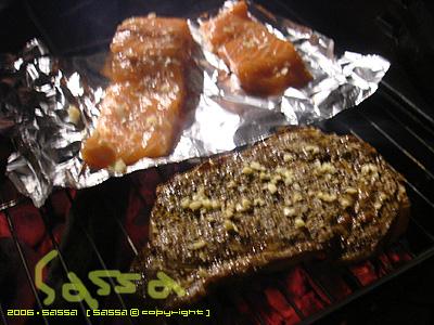美國莎朗VS澳洲鮭魚