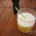 迎賓果汁。好喝滴香茅鳳梨汁