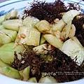 迎賓菜。涼拌蘭嶼鹿角菜&蘭嶼香瓜