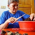 施爸早上抓滴石鱉與鹿角菜唷