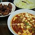dinner酒釀豆乳雞、蒲瓜、麻婆豆腐、大黃瓜排骨湯