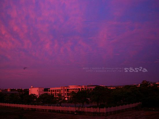 20110708夕陽