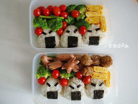 第一次做壽司便當
