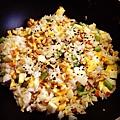松子蔬菜炒飯(素)